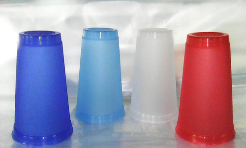 vaso licorero de 16 oz colores surtidos
