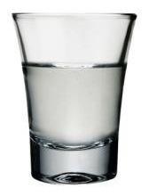 vaso licor/tequila 60 cc. nadir por 12
