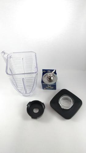 vaso licuadora oster completo cuchilla, base, tapa vaso past