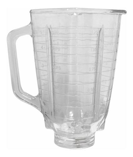 vaso licuadora vidrio 1.25l genérico refractario oster