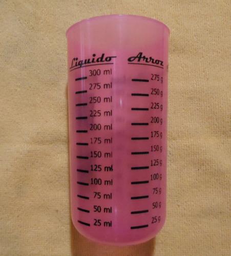 vaso medidor para medidas reposteria cocina