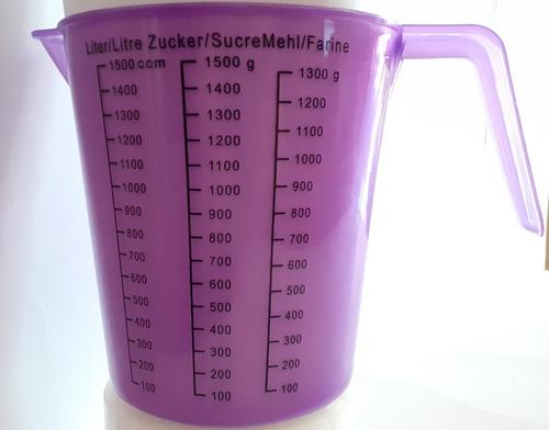 vaso medidor vaso para medidas reposteria