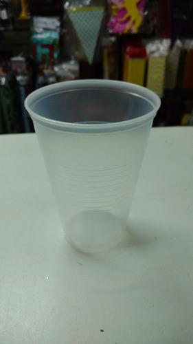 vaso medio litro 500cc plastico descartable x60 unidades