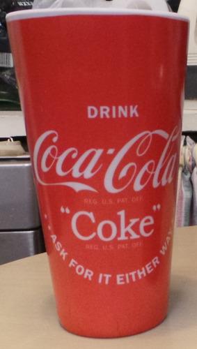 vaso melamina coca cola licencia original