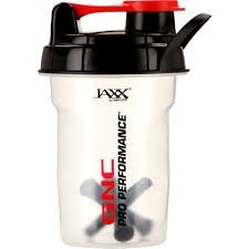 vaso mezclador de  proteinas gnc shaker jaxx 20 onzas