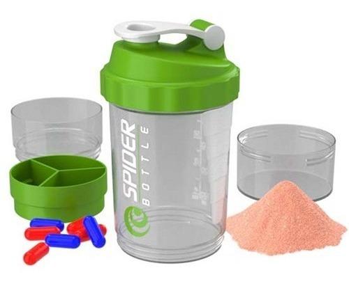 vaso mezclador de proteínas spider bottle 500ml febo