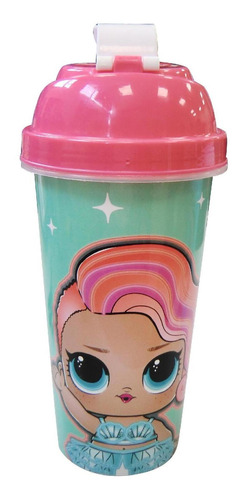vaso milkshake 580 ml lol surprise infantil divertido