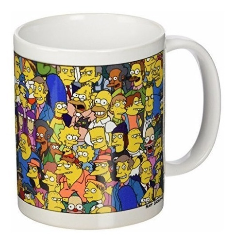 vaso - mug - pocillo los simpsons 11 oz