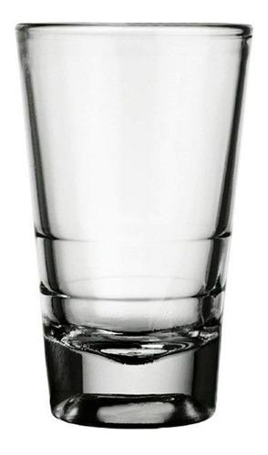 vaso nadir caninha tequila shot licor 100ml caja x24 vidrio