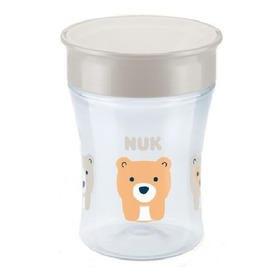Vaso Nuk Bebe Magic Cup 250 Ml +8 Meses 360 Antigoteo Vasito