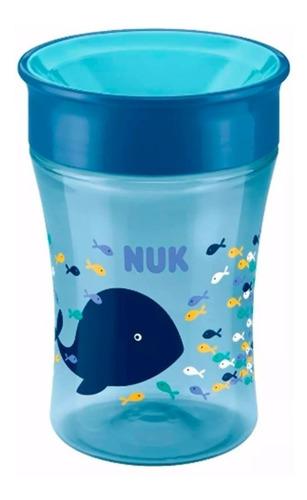 vaso nuk bebe magic cup 250 ml +8 meses 360 babymovil