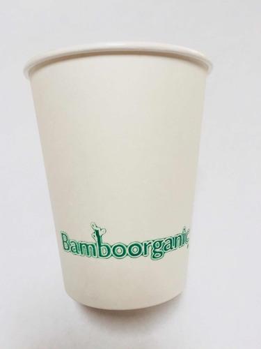 vaso para cafe bamboorganic biodegradable 8 oz