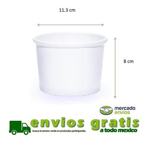 vaso para helado 16 oz 500pz