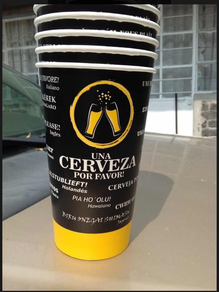vaso para michelada caguama chelas cerveza bar cdmx df 5 00 en