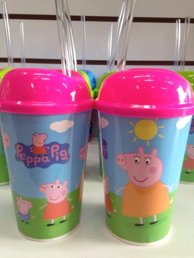 178e3cd49 Vaso Pitillo Pepa Pig Sorpresas Fiestas Piñatas Regalos - $ 3.000 en ...