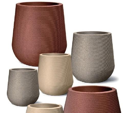 vaso plantas riscatto redondo 45 areia