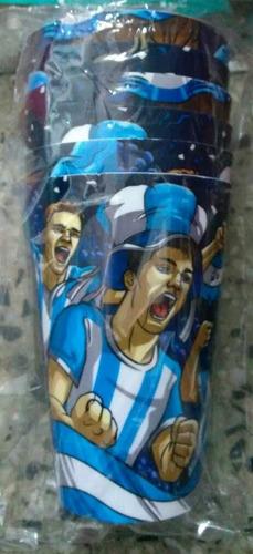 vaso plastico argentina mundial 600cc x unidad