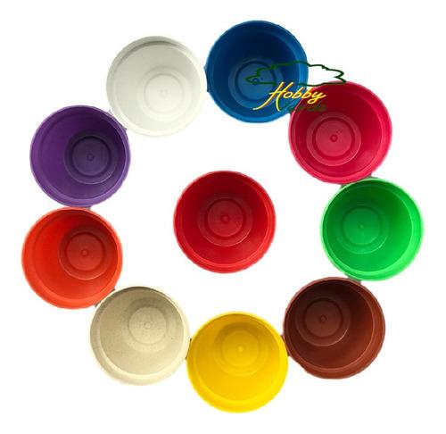 vaso plástico mini pote 6 colorido cactos e suculentas 20 ud