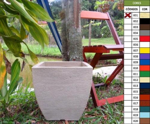 vaso plastico plantas polietileno jardim flores bg8 p
