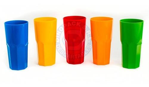 vaso plastico pp irrompible tipo nadir bristol x 6un.