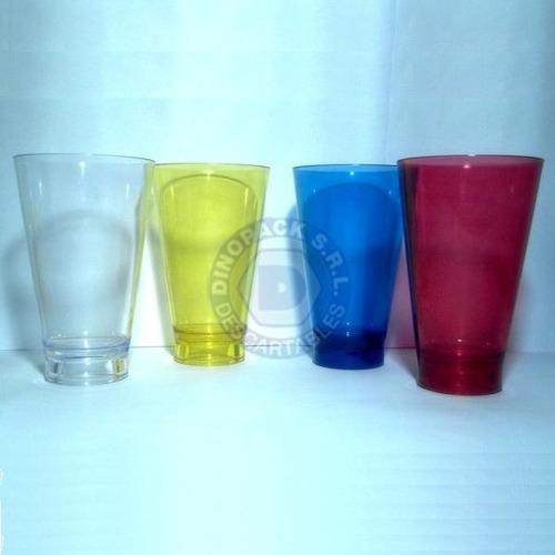 vaso plástico trago largo simil ilhabella x 6 un - colores