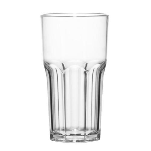 vaso policarbonato irrompible 330cc genova simil vidrio x6 u
