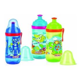 Vaso Pop Up Nuby Con Tapa Diseños 12 Oz Para Bebes 9m+