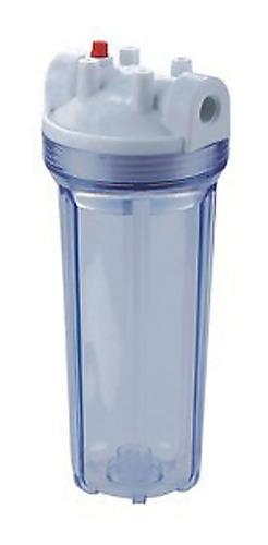 vaso portafiltro 10'' transp. filtro revendedores x20 659091
