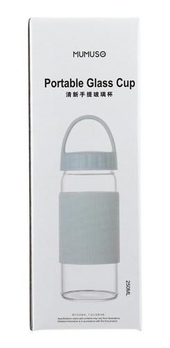 vaso portátil mumuso de 250 ml - azul