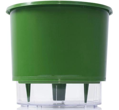 vaso raiz auto irrigável 21cm n4 autoirrigável planta cores