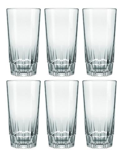 vaso refresco nadir 330 ml x 6 unid. vegas
