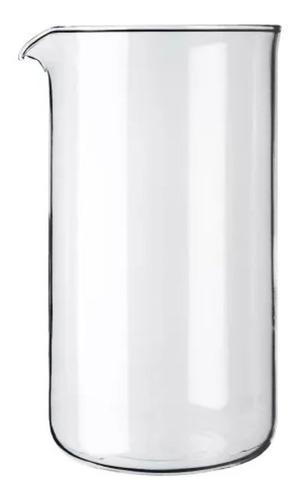 vaso repuesto cafetera bodum vidrio 8 pocillos 1 litro