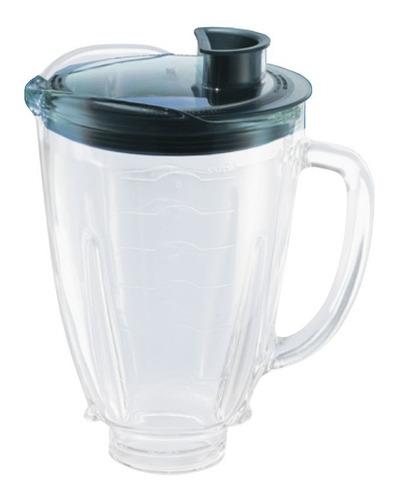 vaso repuesto oster licuadora reversible vidrio con tapa