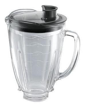 vaso reversible de vidrio con tapa incluida 1.25 lts oster