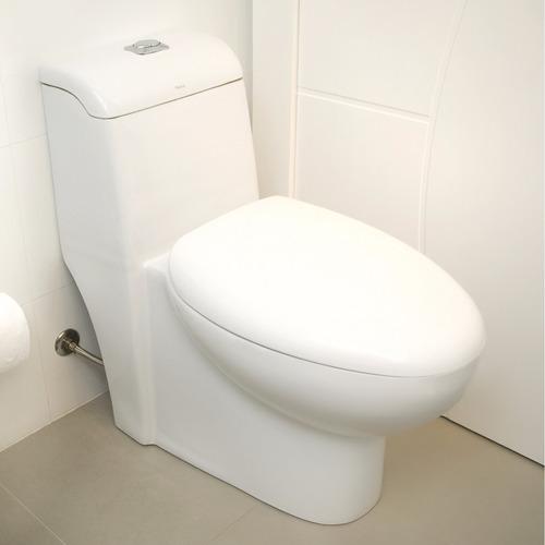 Vaso Sanitário Com Caixa Acoplada Pettra Jade Branco  R$ 899,90 em Mercado L -> Decoracao Banheiro Vaso Sanitario Preto