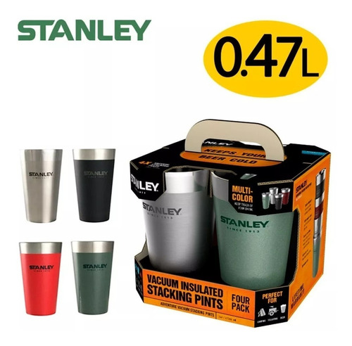 vaso stanley acero inoxidable frio calor 470ml palermo°
