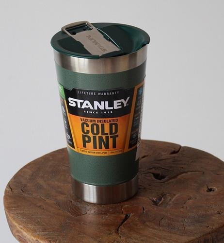 vaso stanley cold pint con destapador termico 473ml original