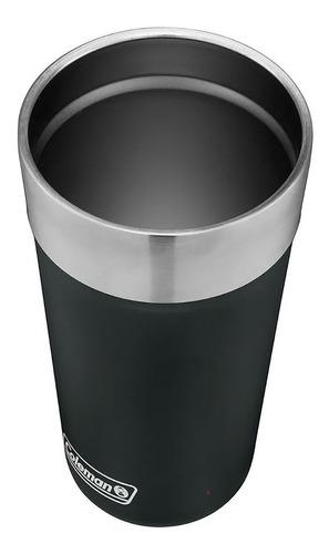 vaso térmico coleman acero inox. brew 600 ml destapador