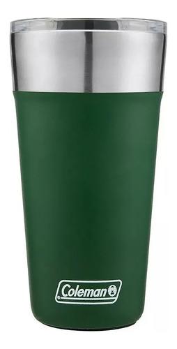 vaso térmico coleman acero inox. brew 600 ml destapador x 2