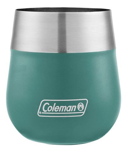 vaso térmico coleman acero inox. claret 384ml colores