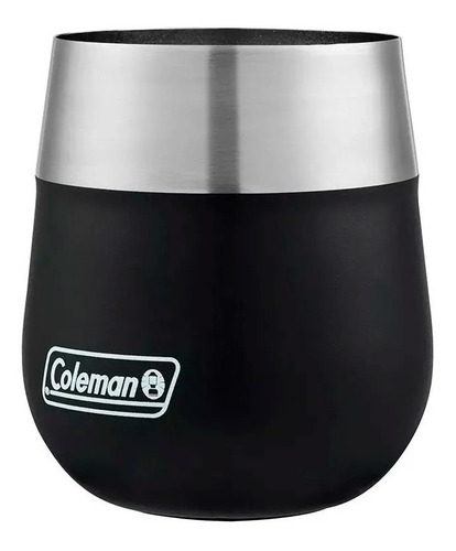 vaso térmico coleman acero inoxidable claret 384ml negro