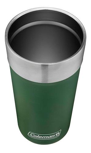vaso termico coleman brwe verde 600ml coleman