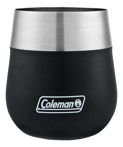 vaso termico coleman claret negro 384 ml coleman