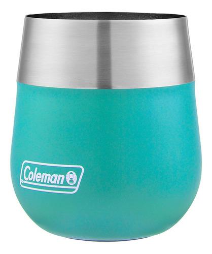 vaso termico coleman claret tuquesa 384 ml coleman