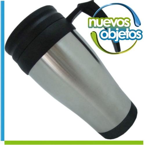vaso termico de 400cm3 con cierre jarro aprobado p/ alimento
