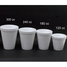 Vaso Termico Descartable Dart 120cc Telgopor Caja X 1000u