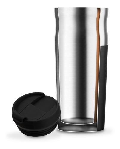 vaso térmico hermético acero inox waterdog olivera 450cc