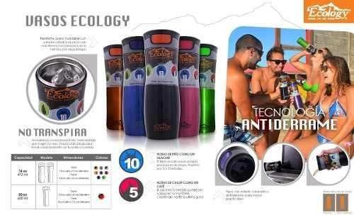vaso térmico metálico 20oz ideal para agua, café y viajes