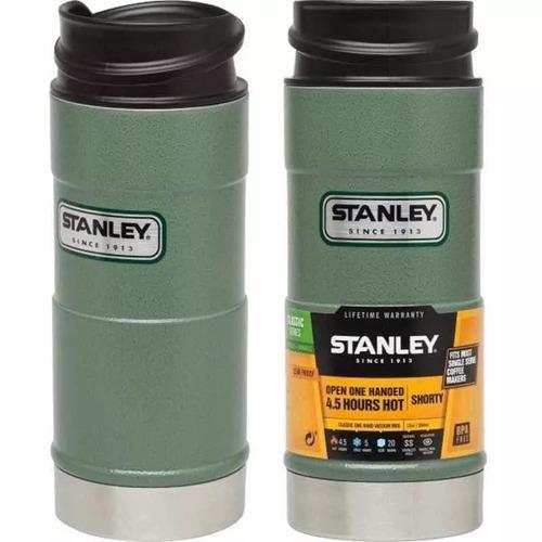 vaso termico stanley 354ml one hand original verde cafe