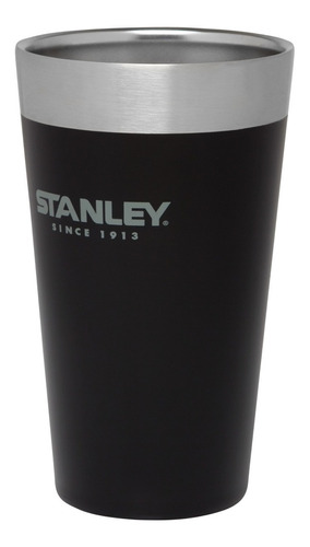vaso termico stanley 500ml sin tapa original negro